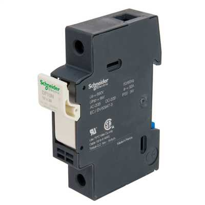 32A Neutral Fuse Disconnector Black
