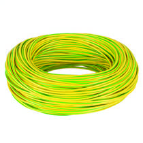 3mm PVC Green / Yellow Earth Sleeving (100m Reel)