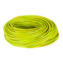 5mm PVC Green / Yellow Earth Sleeving (100m Reel)