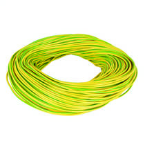 2mm PVC Green / Yellow Earth Sleeving (100m Reel)