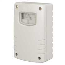 Photoelectric Switch With 1-8 hour Run Back Timer Grey IP44
