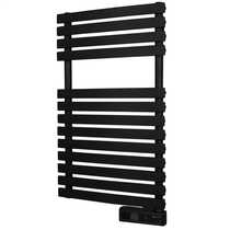 300W Delta Ultimate Electric Towel Rail Black Wifi Enabled