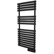 450W Delta Ultimate Electric Towel Rail Black Wifi Enabled