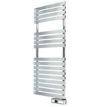 300W Delta Ultimate Electric Digital Towel Rail Chrome Wifi Enabled