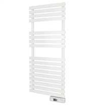 450W Delta Ultimate Electric Digital Towel Rail White Wifi Enabled