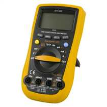 True RMS Professional Multimeter with AC Current Clamp Adaptor