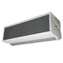 12kW Electrically Heated Air Curtain Light Grey