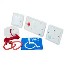 Single Zone Disabled Persons Toilet Alarm Kit