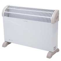 2kW Convector Heater with Timer White
