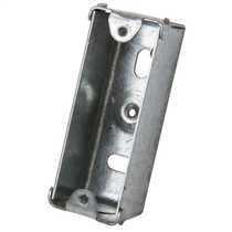1 Gang 28mm Metal Flush Knockout (KO) Architrave Switch Box (Sold in 1's)