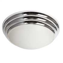 Chrome Opal 28W Dome IP44 Polycarbonate Base