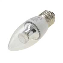 4W 35mm LED ES Candle Lamp Clear Cool White