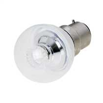 4W BC 45mm LED Round Lamp Clear 2700K
