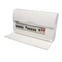 16 Way 100A High Integrity 17th Edition Dual RCD Insulated Consumer Unit