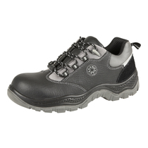 Size 10 Punto Non-Metallic Safety Shoes Black