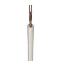 3092Y 0.75mm² Heat Resistant Flexible Cable White (50m Drum)