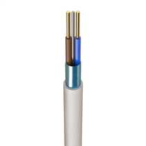 2.5mm² FP Plus Enhanced Fire Resistant Cable 2 Core & Earth White (100m Drum)