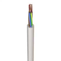 3095Y 0.75mm² Heat Resistant Flexible Cable White (50m Drum)