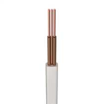 H6242B 1.5mm² LSF T+E Twin and Earth Cable White 2 Brown Cores (100m)