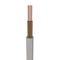 H6242Y 1.5mm² PVC T+E Twin and Earth Cable 2 Brown Cores Grey (50m Drum)