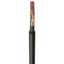 CW1128 10 Pair Telephone Cable Black (Cut Length Sold By The Mtr)