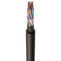 CW1128 20 Pair Telephone Cable Black (Cut Length Sold By The Mtr)