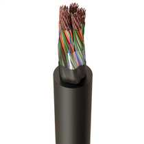 CW1128 50 Pair Telephone Cable Black (Cut Length Sold By The Mtr)