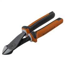 Insulated High Leverage Diagonal Cutting Pliers Angled