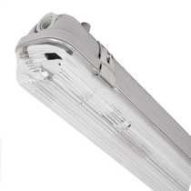 18W Single High Frequency Polycarbonate IP65 Non Corrosive complete with Stainless Steel Clips