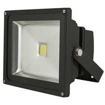 30 Watt 5500K Die Cast Aluminium LED Floodlight With Steel Mounting Bracket