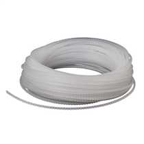 1.5mm Transparent Crenulated Grommet Strip (Pack of 30m)