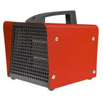 2.5kW Ceramic Heater Red