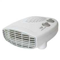 2kW Letter Box Style Fan Heater with Thermostat White