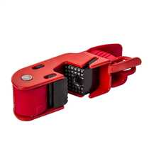 Grip Tight Moulded Case Circuit Breaker Lockout Locates Over Red