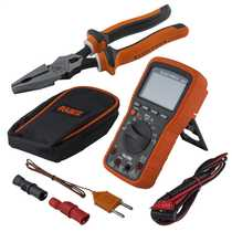 Digital Multimeter with Combination Pliers