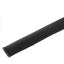 19 to 32mm Expandable Black Braided Sleeving (Pack of 25m)