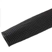 28 to 47mm Expandable Black Braided Sleeving (Pack of 25m)