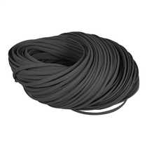 4 to 10mm Expandable Black Braided Sleeving (Pack of 100m)