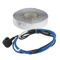 2m 24W Stop Ice Anti Freeze Heating Cable Kit complete with Insulation Tape