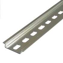 Top Hat Din Rail 35mm Slotted (2m Length)