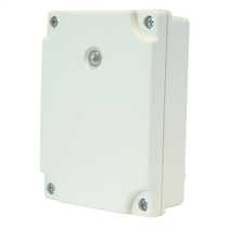 Adjustable Electronic Photocell Control Unit IP65 complete with Timer White