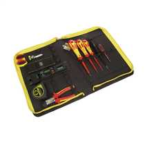 10 Piece Electrician's Tool Kit in Wallet