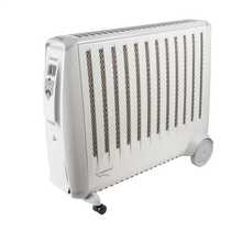 3kW Enviro Sensitive Oil Free Electric Radiator White / Light Grey