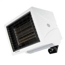 9kW Single or Three Phase Remote Controlled Industrial Fan Heater White
