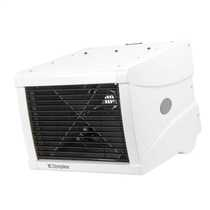 3kW Single or Three Phase Remote Controlled Commercial Fan Heater White
