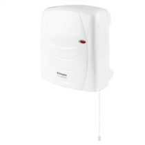 2kW IPX4 Downflow Fan Heater White