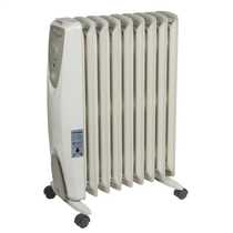 2kW Enviro-Sensitive Oil Free Heaters White without Timer