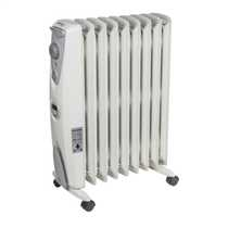 2kW Enviro Sensitive Oil Free Heater White with 24 Hour Timer