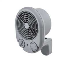 3kW Compact Commercial Fan Heater Grey