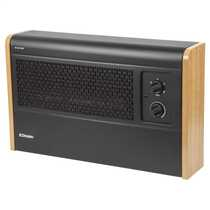3kW Manual Wall Mounted Fan Convector Heater Black
